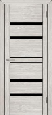 Межкомнатная дверь Uberture UniLine 30030 велюр капучино со стеклом