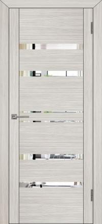Межкомнатная дверь Uberture UniLine 30030 велюр капучино с зеркалом