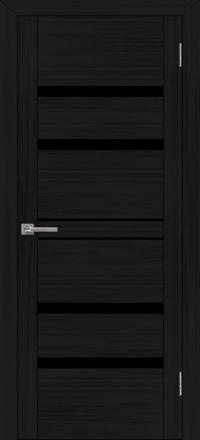Межкомнатная дверь Uberture UniLine 30030 велюр шоко со стеклом