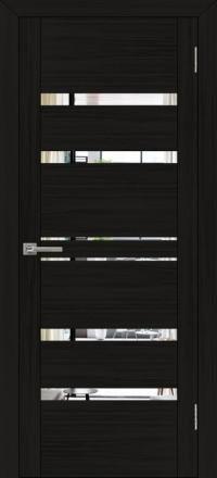 Межкомнатная дверь Uberture UniLine 30030 велюр шоко с зеркалом