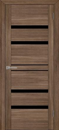Межкомнатная дверь Uberture UniLine 30030 велюр серый со стеклом