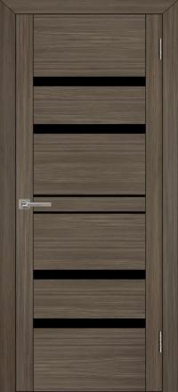Межкомнатная дверь Uberture UniLine 30030 велюр графит со стеклом