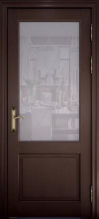 Межкомнатная дверь Uberture Versailes 40004 дуб французский со стеклом