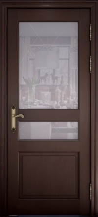 Межкомнатная дверь Uberture Versailes 40006 дуб французский со стеклом