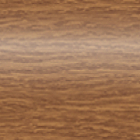 Плинтус ПВХ Идеал Комфорт 217 Дуб темный глянец 55x22