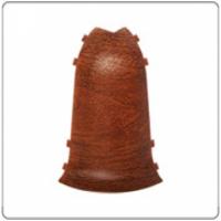 Угол наружный для плинтуса ПВХ Идеал Кофморт в цвет 55x22