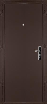 Металлическая входная дверь Valberg ЛМД-1 Бастион медь