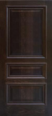 Межкомнатная дверь Дворецкий Верона английский дуб глухое полотно