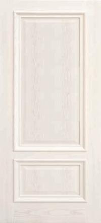 Межкомнатная дверь Дворецкий Парма ясень карамельный глухое полотно