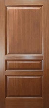 Межкомнатная дверь Дворецкий Готика орех глухое полотно