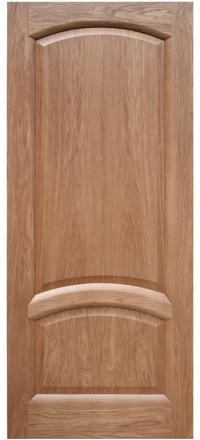 Межкомнатная дверь Дворецкий Соло натуральный дуб глухое полотно