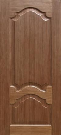 Межкомнатная дверь Дворецкий Виктория орех глухое полотно
