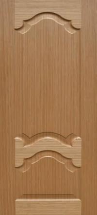 Межкомнатная дверь Дворецкий Виктория дуб глухое полотно