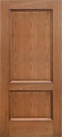 Межкомнатная дверь Дворецкий Эллада натуральный дуб глухое полотно