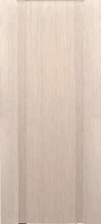 Межкомнатная дверь Дворецкий Спектр 2 беленый дуб глухое полотно