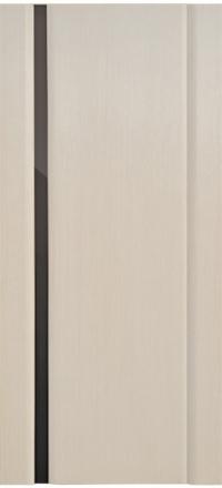 Межкомнатная дверь Дворецкий Спектр 1 беленый дуб остекленная