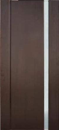 Межкомнатная дверь Дворецкий Спектр 1 венге остекленная