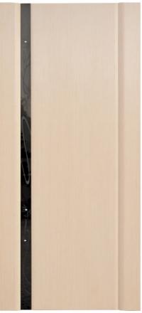 Межкомнатная дверь Дворецкий Диамант 1 беленый дуб остекленная