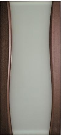 Межкомнатная дверь Дворецкий Диадема 2 венге остекленная