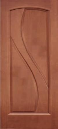 Межкомнатная дверь Дворецкий Версаль темный анегри глухое полотно