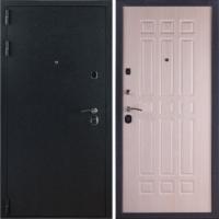 Стальная входная дверь ЗК Лайт Черный бархат
