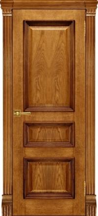 Межкомнатная дверь Regidoors Elegante Classico Барселона Patina Antico глухая