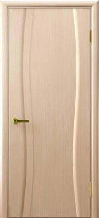 Межкомнатная дверь Regidoors Vetro Диадема Беленый дуб глухая