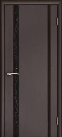 Межкомнатная дверь Regidoors Vetro Эксклюзив-1 Венге со стеклом