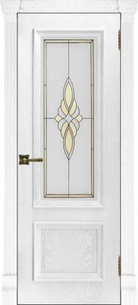 Межкомнатная дверь Regidoors Elegante Classico Корсика Perla со стеклом Маэстро