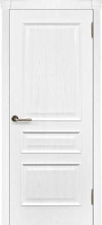 Межкомнатная дверь Regidoors Eco Милан Ясень жемчуг глухая
