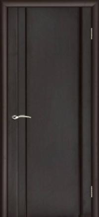 Межкомнатная дверь Regidoors Vetro Техно-1 Венге глухая