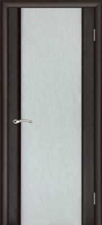 Межкомнатная дверь Regidoors Vetro Техно-3 Венге со стеклом