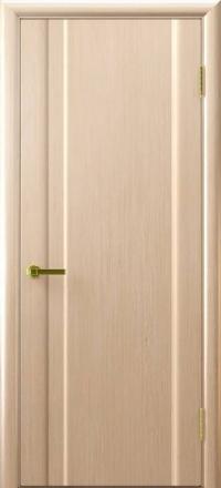 Межкомнатная дверь Regidoors Vetro Техно-1 Беленый дуб глухая