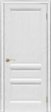 Межкомнатная дверь Regidoors Gracia Валенсия-2 Ясень жемчуг глухая