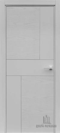 Межкомнатная дверь Regidoors Art Line Fusion Chiaro Patina Argento 9003 глухая
