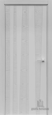 Межкомнатная дверь Regidoors Art Line Trend Chiaro Patina Argento 9003 глухая