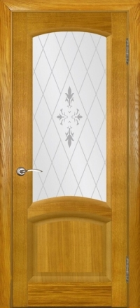 Межкомнатная дверь Regidoors Gracia Лаура Дуб Capri со стеклом