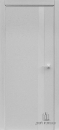 Межкомнатная дверь Regidoors Art Line Uno Chiaro 9003 со стеклом