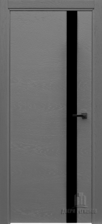 Межкомнатная дверь Regidoors Art Line Uno Grigio 7015 со стеклом