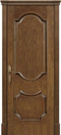 Межкомнатная дверь Дариано Женева Дуб миндаль глухая