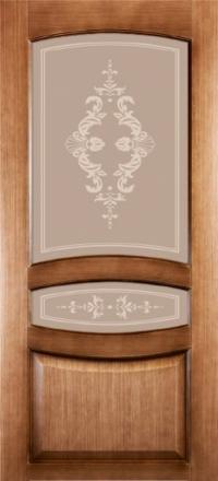Межкомнатная дверь Левша Сиена со стеклом