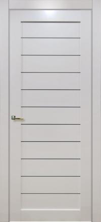 Межкомнатная дверь Porta Bella Эко Flex Тефея ясень белый остекленная