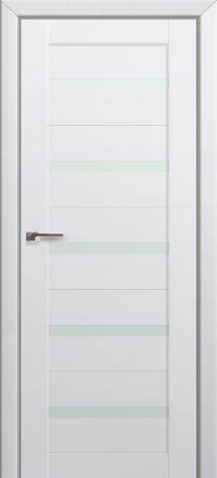 Межкомнатная дверь ПрофильДорс 7U Аляска со стеклом