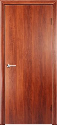Межкомнатная дверь Содружество Гладкая итальянский орех глухая