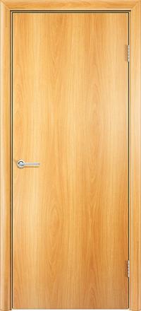 Межкомнатная дверь Содружество Гладкая миланский орех глухая