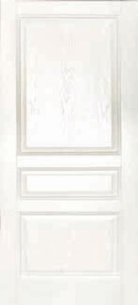 Межкомнатная дверь Дворецкий Готика белый ясень глухое полотно
