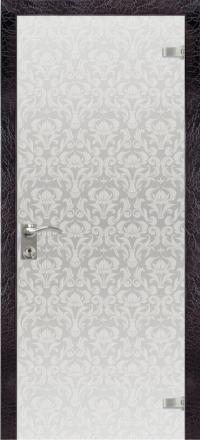 Межкомнатная дверь Дариано Камелия стеклянная