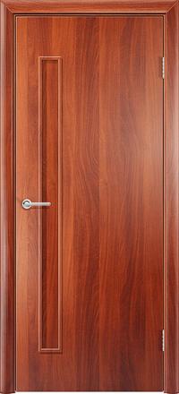 Межкомнатная дверь Содружество Каприз итальянский орех глухая