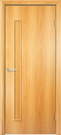Межкомнатная дверь Содружество Каприз миланский орех глухая
