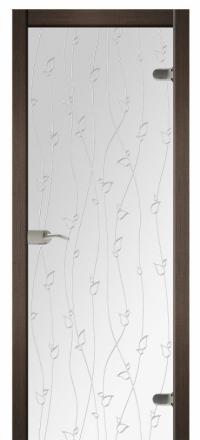 Межкомнатная дверь Дариано Адажио стеклянная